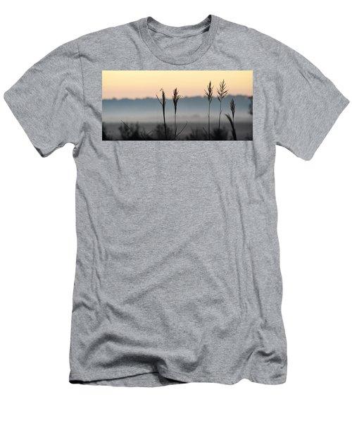 Hayseed Johnny Men's T-Shirt (Slim Fit) by John Glass