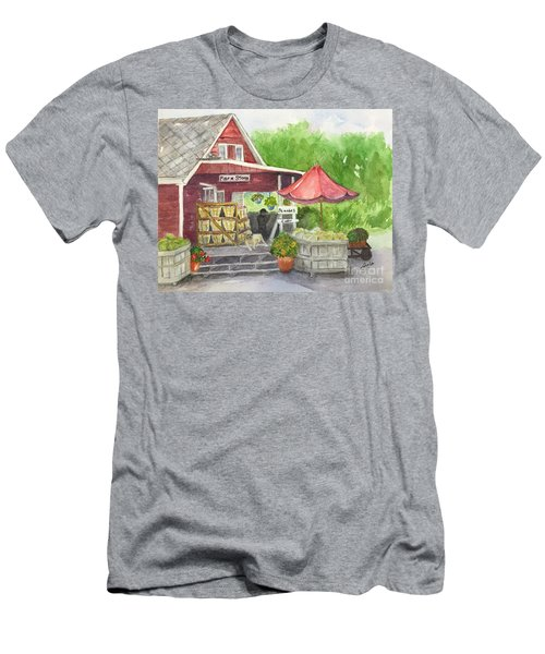 Country Farmer's Market Men's T-Shirt (Athletic Fit)