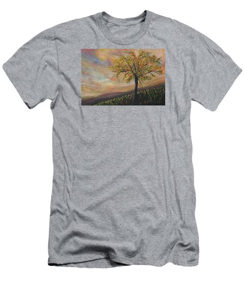 Country Morn Men's T-Shirt (Athletic Fit)