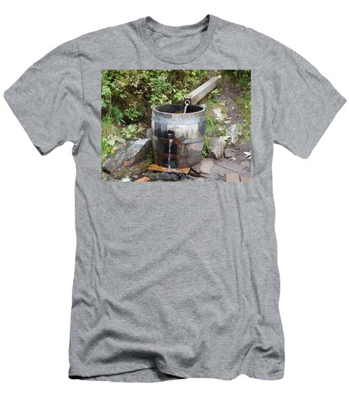 Countryside Water Feature Men's T-Shirt (Slim Fit) by Catherine Gagne
