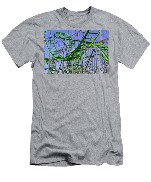 County Fair Thrill Ride Men's T-Shirt (Athletic Fit)