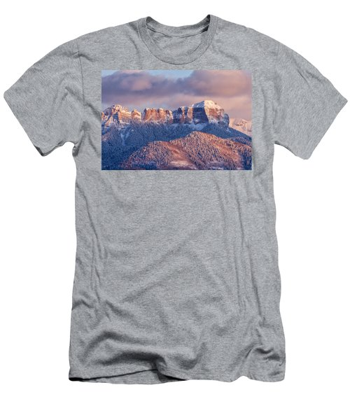 Court House Mountain Glow Men's T-Shirt (Athletic Fit)