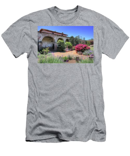 Courtyard Garden Men's T-Shirt (Athletic Fit)