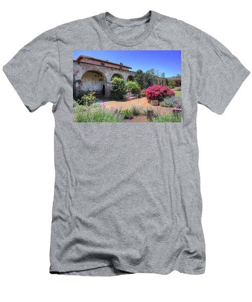 Courtyard Garden Men's T-Shirt (Athletic Fit)