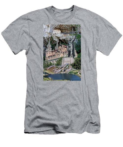 Men's T-Shirt (Slim Fit) featuring the photograph Covadonga by Angel Jesus De la Fuente