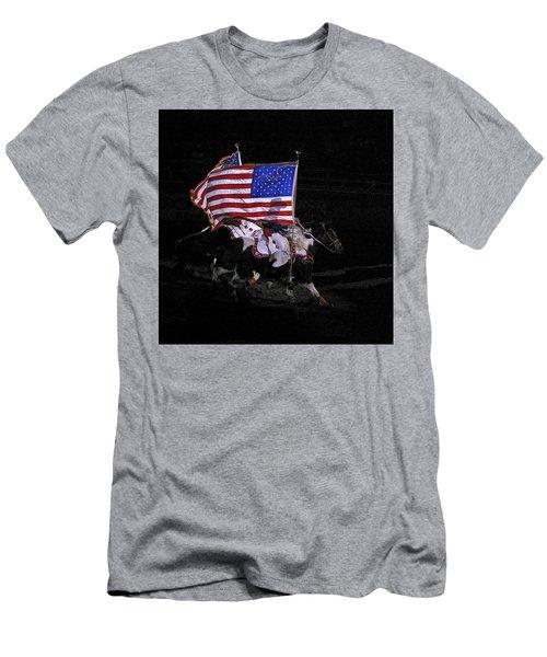 Cowboy Patriots Men's T-Shirt (Athletic Fit)