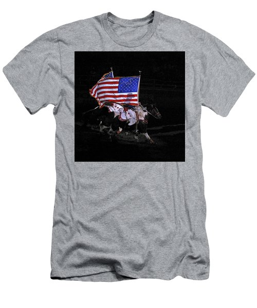 Cowboy Patriots Men's T-Shirt (Athletic Fit)