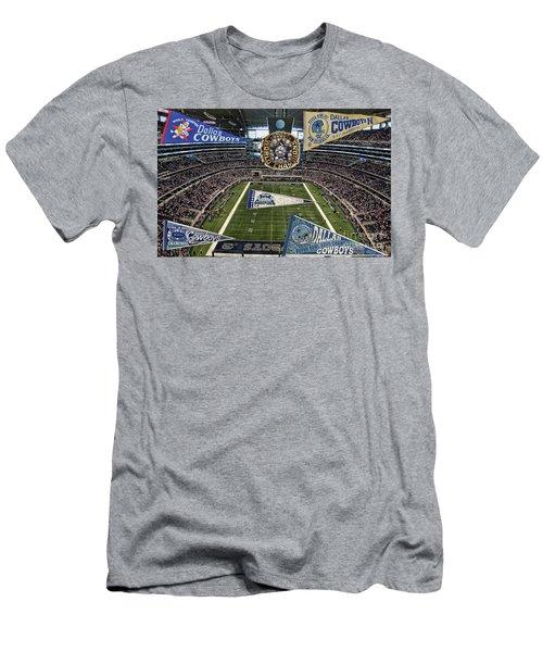 Cowboys Super Bowls Men's T-Shirt (Athletic Fit)