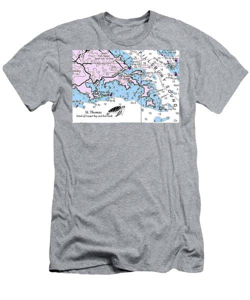 Cowpet Bay Men's T-Shirt (Athletic Fit)