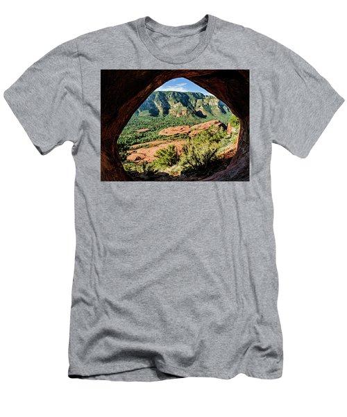 Cowpie 07-031p Men's T-Shirt (Slim Fit) by Scott McAllister