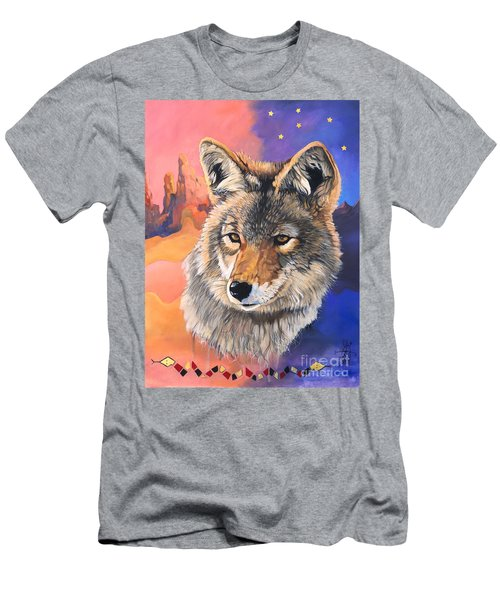 Coyote The Trickster Men's T-Shirt (Athletic Fit)