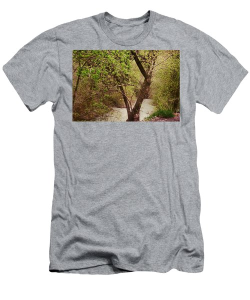 Cozy Stream In American Fork Canyon Utah Men's T-Shirt (Athletic Fit)