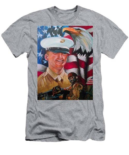 Cpl. Drown Men's T-Shirt (Athletic Fit)