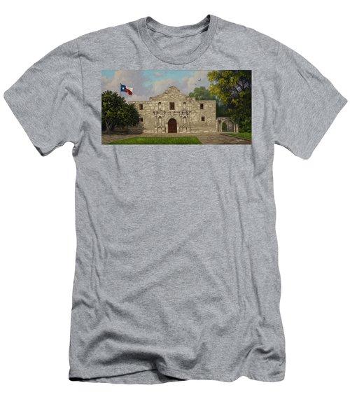 Cradle Of Texas Liberty Men's T-Shirt (Athletic Fit)