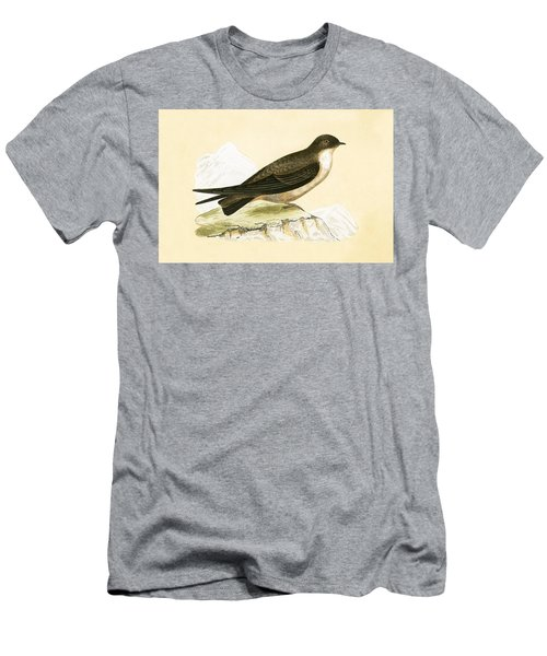 Crag Swallow Men's T-Shirt (Slim Fit) by English School