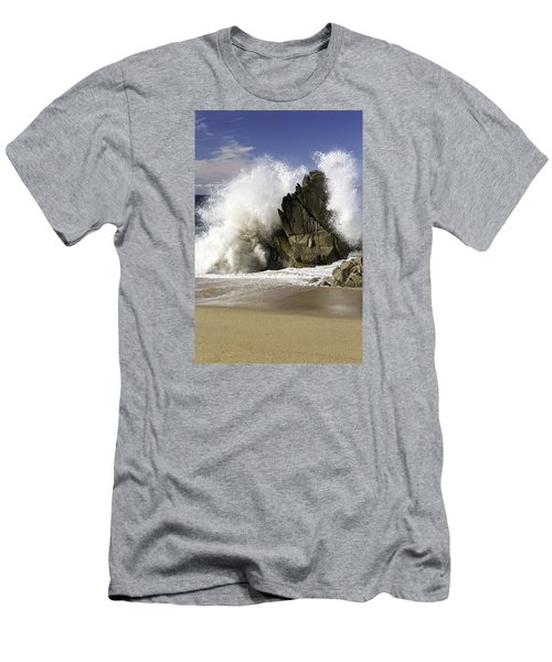 Crashing Men's T-Shirt (Athletic Fit)
