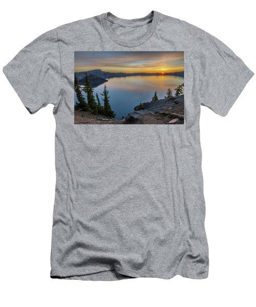 Crater Lake Morning No. 2 Men's T-Shirt (Athletic Fit)