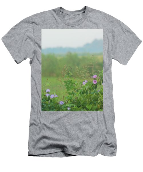 Men's T-Shirt (Slim Fit) featuring the photograph Crawfish And Rice Fields Of Dreams by John Glass