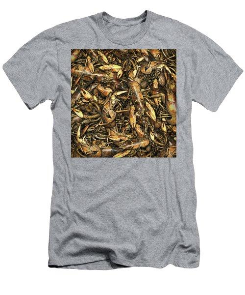 Crayfish Men's T-Shirt (Slim Fit) by James Larkin