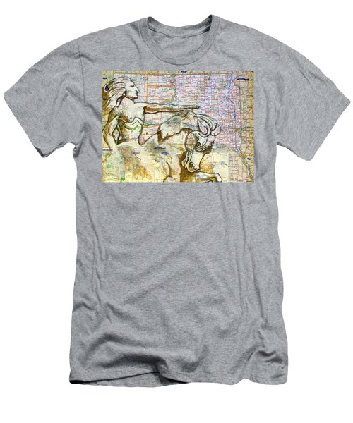 Crazy Horse Men's T-Shirt (Athletic Fit)