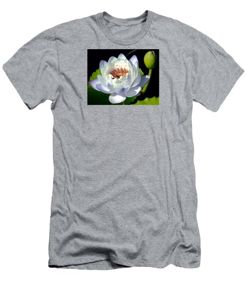 Men's T-Shirt (Slim Fit) featuring the photograph Creation by Brenda Pressnall