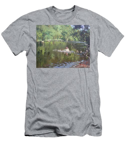 Credit River By Norval On Men's T-Shirt (Athletic Fit)