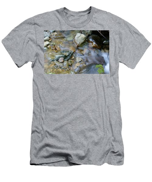 Creek On Mt Tamalpais Men's T-Shirt (Athletic Fit)