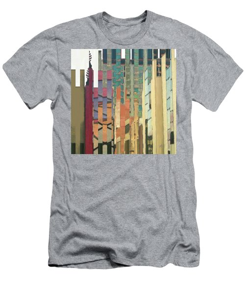 Crenellations Men's T-Shirt (Athletic Fit)