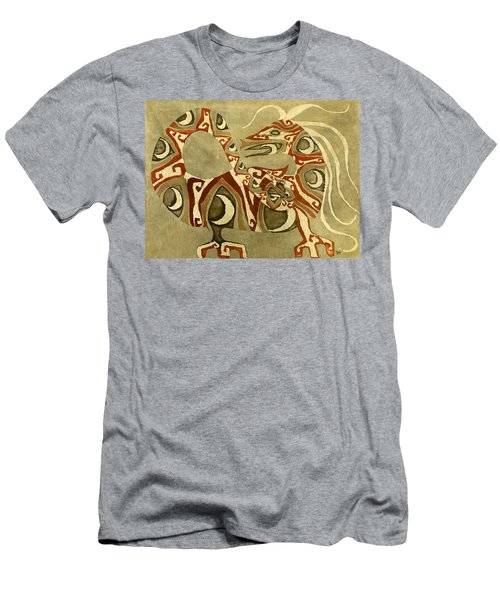 Crescent Dragon Men's T-Shirt (Athletic Fit)