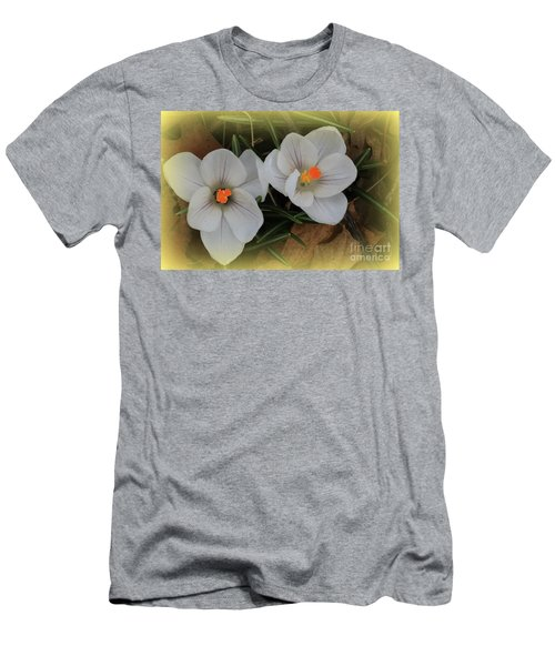 Crocuses Men's T-Shirt (Athletic Fit)