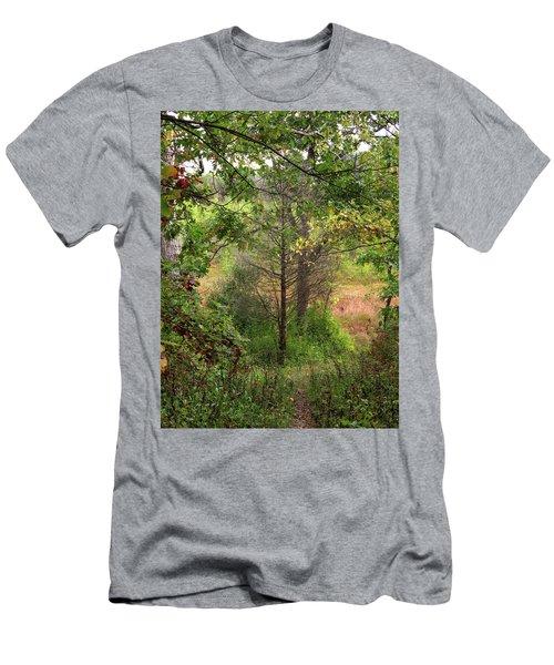 Crooked Creek Woods Men's T-Shirt (Athletic Fit)