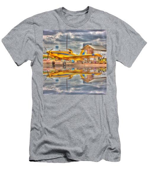Crop Duster 001 Men's T-Shirt (Athletic Fit)