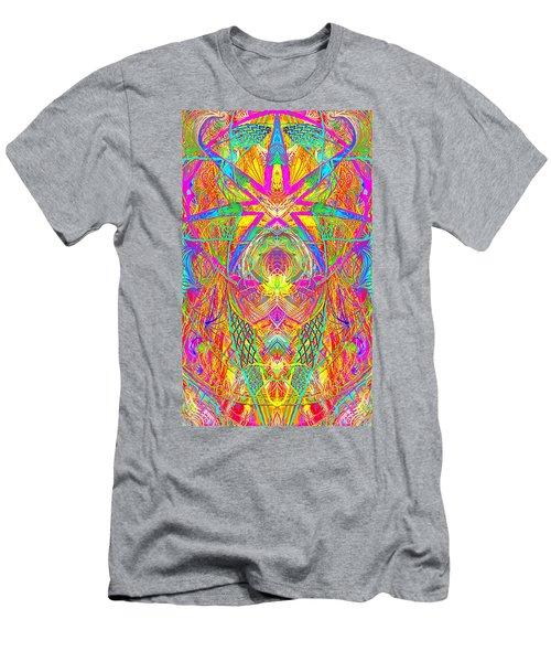 Cross 3 11 17 Men's T-Shirt (Athletic Fit)