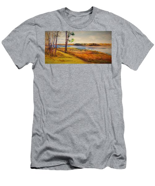 Cross Ranch State Park Men's T-Shirt (Athletic Fit)