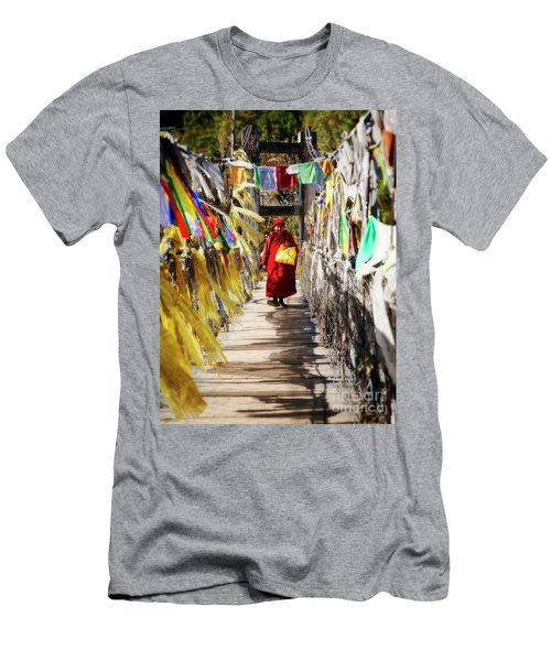 Crossing Over Men's T-Shirt (Athletic Fit)