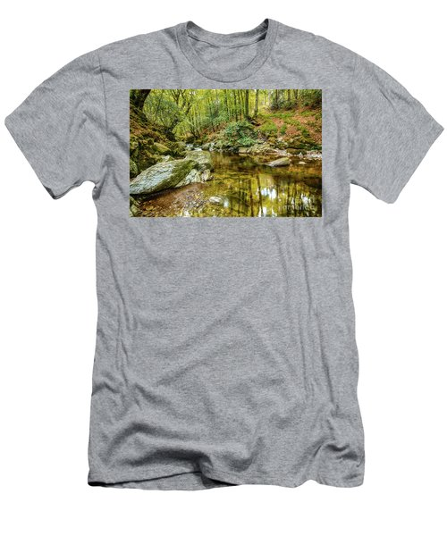 Crough Wood 1 Men's T-Shirt (Athletic Fit)
