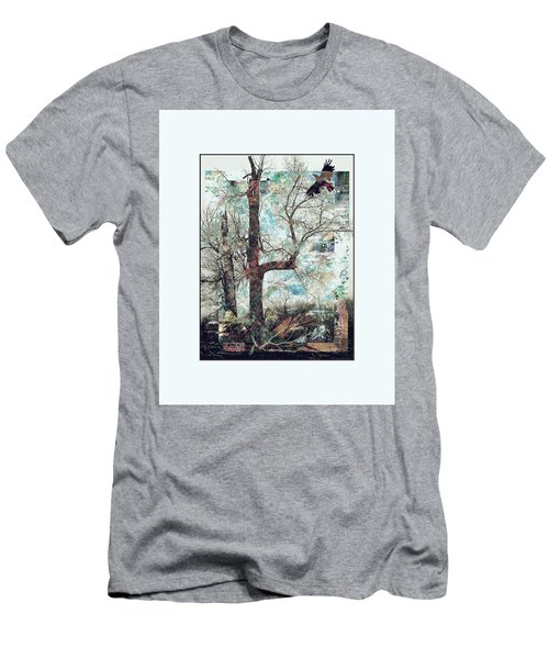 Crow At Ten Mile Creek Men's T-Shirt (Athletic Fit)