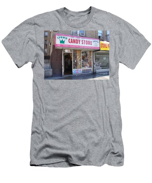 Men's T-Shirt (Slim Fit) featuring the photograph Crown Candy Store  by Cole Thompson