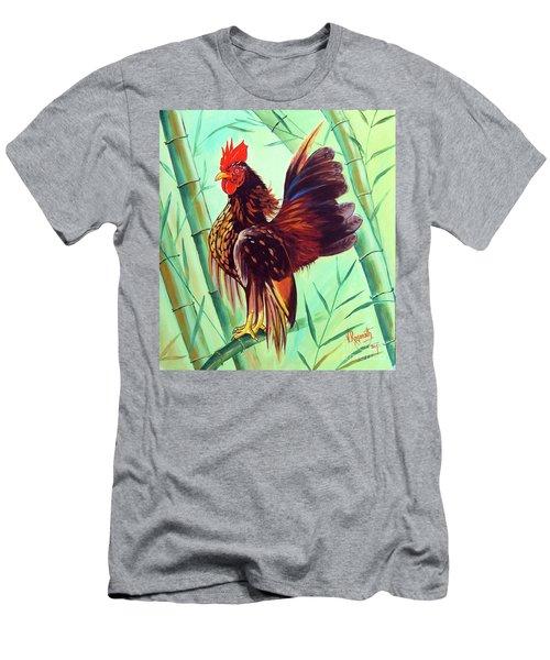 Crown Of The Serama Chicken Men's T-Shirt (Slim Fit) by Ragunath Venkatraman