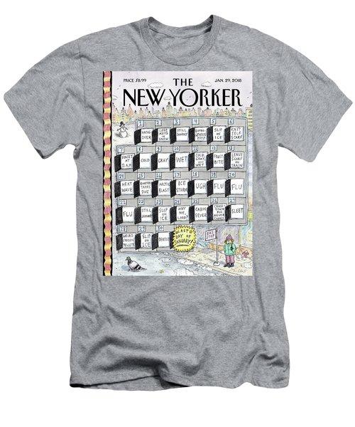 Cruellest Month Men's T-Shirt (Athletic Fit)