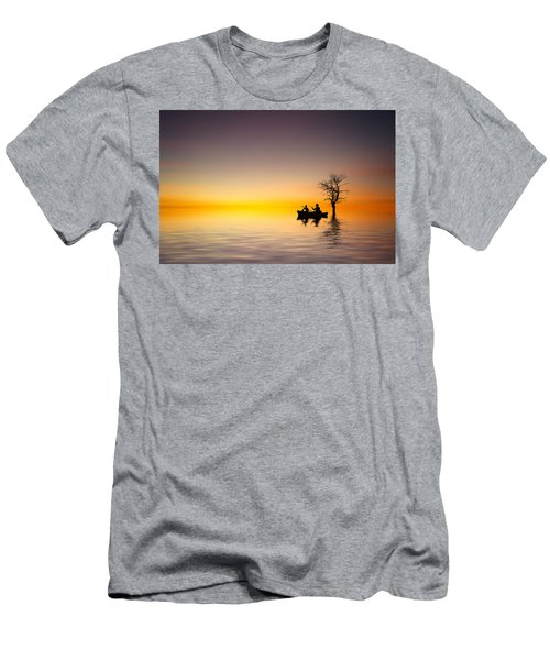 Men's T-Shirt (Slim Fit) featuring the pyrography Cruise by Bess Hamiti