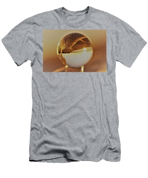 Crystal Beach Ball Men's T-Shirt (Athletic Fit)