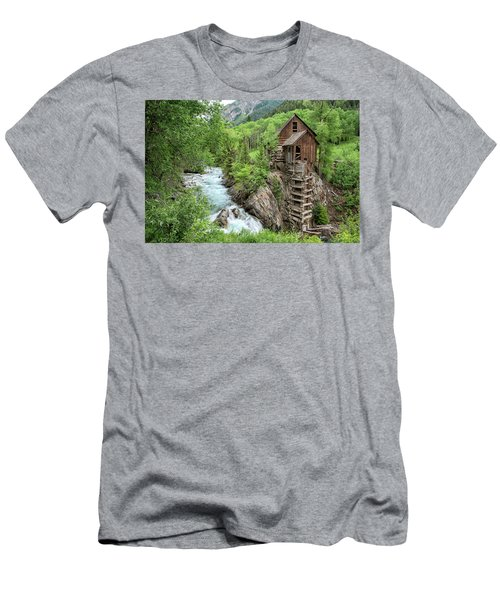 Crystal Mill Colorado 3 Men's T-Shirt (Athletic Fit)
