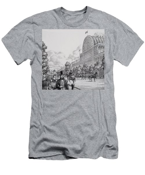 Crystal Palace Men's T-Shirt (Slim Fit) by Pat Nicolle
