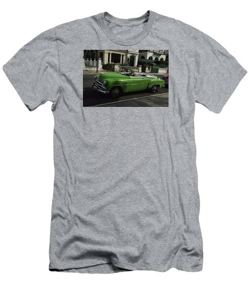 Cuba Car 3 Men's T-Shirt (Slim Fit) by Will Burlingham