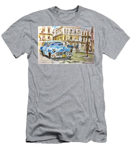 Cuba Today Or 1950 ? Men's T-Shirt (Athletic Fit)