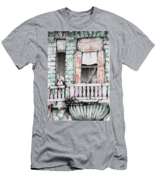 Cuba Today Men's T-Shirt (Athletic Fit)