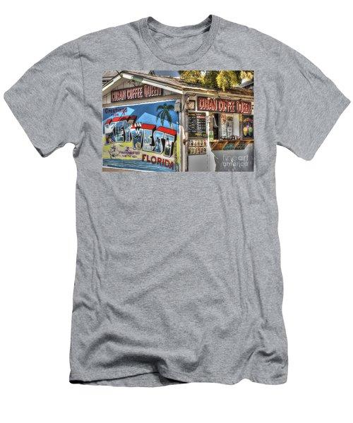 Cuban Coffee Queen Men's T-Shirt (Athletic Fit)
