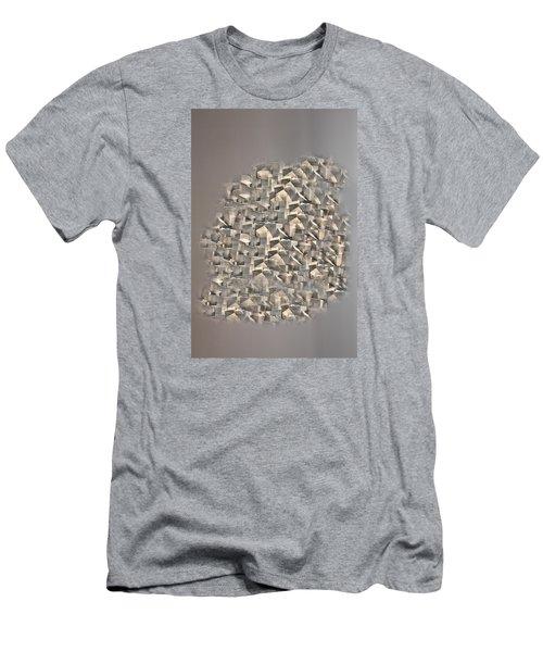 Men's T-Shirt (Slim Fit) featuring the photograph Cubism by Angel Jesus De la Fuente