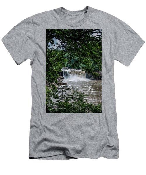Cumberland Falls Men's T-Shirt (Slim Fit)